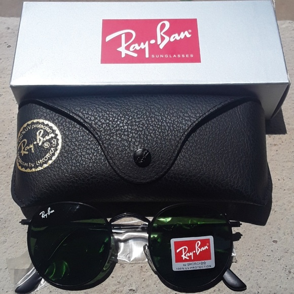 193de81cf Ray-Ban Accessories | Brand New Rov Rayban Metal Rounds 50mm Never ...
